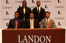 Football Bears sign letters of intent, earn all-Met honors