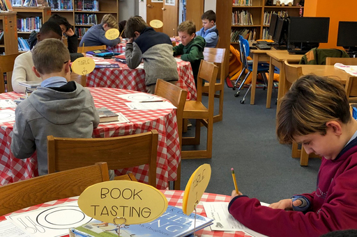 Learning black history through book tastings