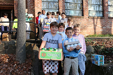 Landon Lower School community service
