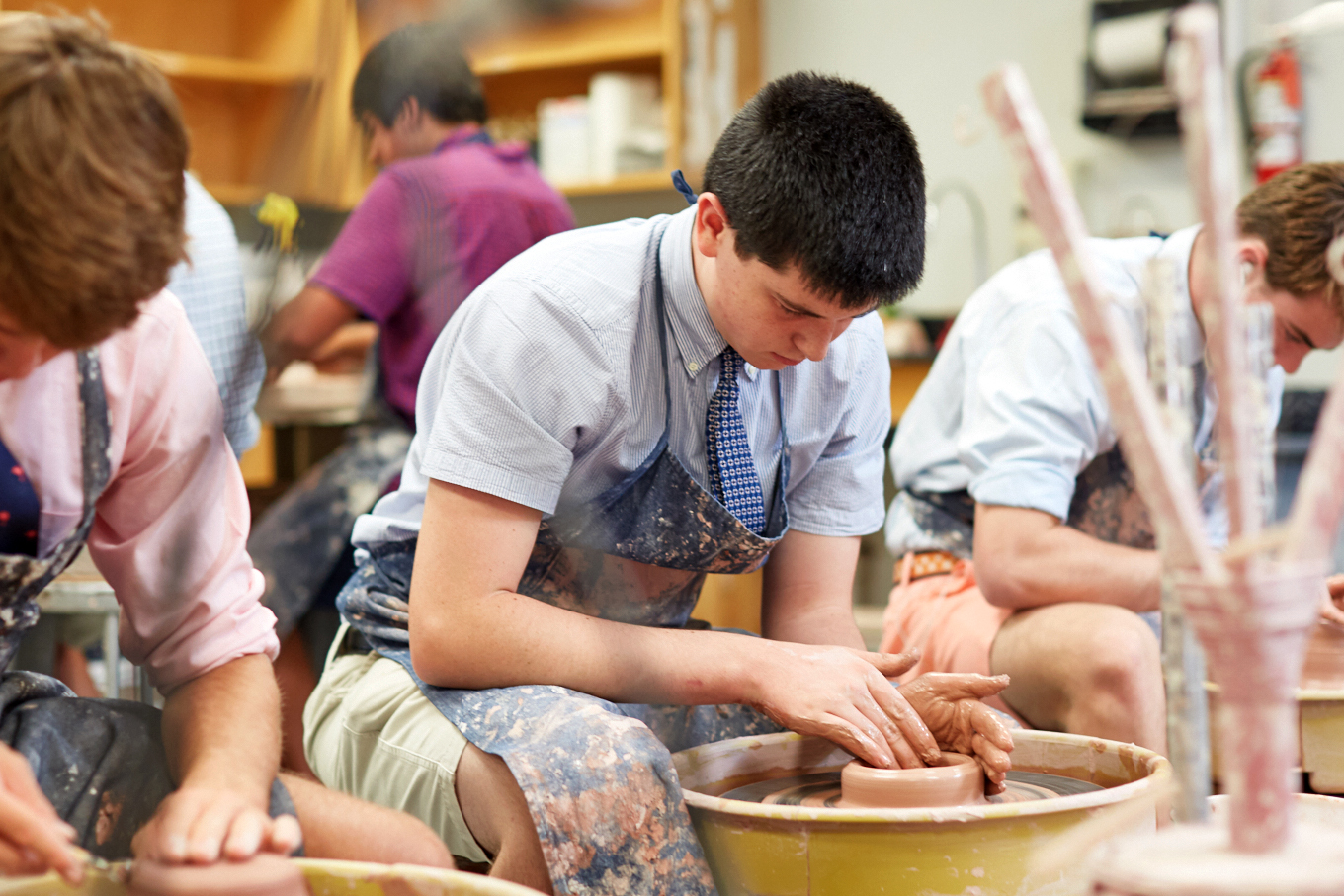 Landon School studio arts